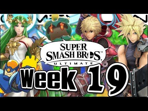 Smash Bros. Ultimate Update: Cloud, Shulk, Palutena, Green Greens, Mega Man & Menu Music - Week 19