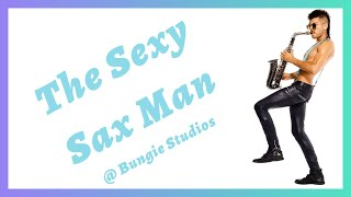 Sexy Sax Man at Bungie Studios and Issaquah HS