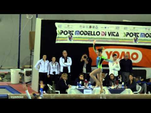 Asia Pandolfo Trave Camp  Italiani 2014