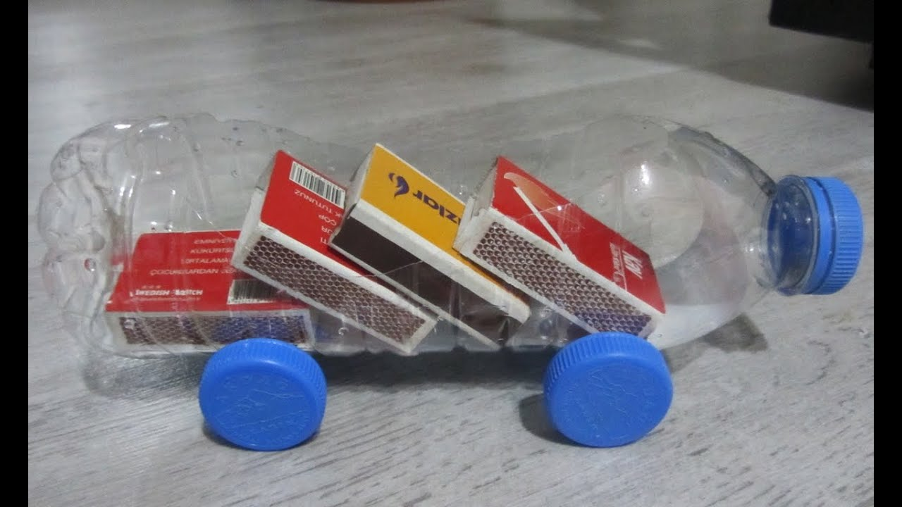 How to make a car basic homemade recycling plastic for Homemade recycled products