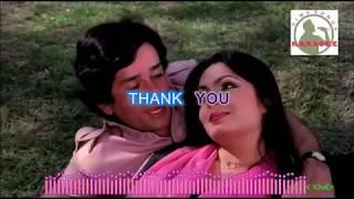 BAHON MEIN TERII hindi karaoke for Male singers with lyrics