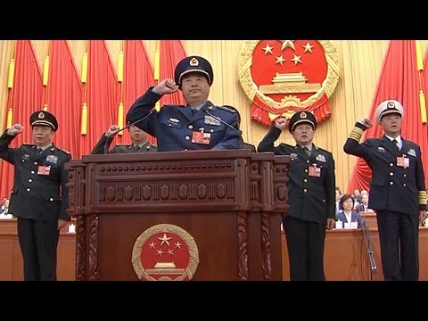 Xu Qiliang, Zhang Youxia endorsed as vice chairpersons of Central Military Commission of PRC
