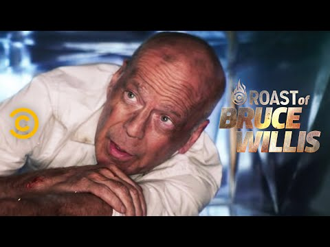 Bruce Willis Is in an Air Shaft Again  Roast of Bruce Willis