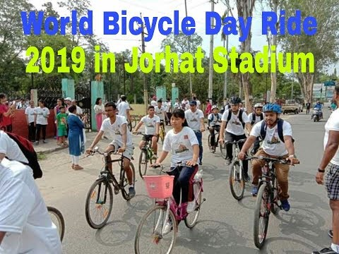 world-bicycle-day-ride-2019-in-jorhat-stadium-(-jorhat-bicycle-rally-)