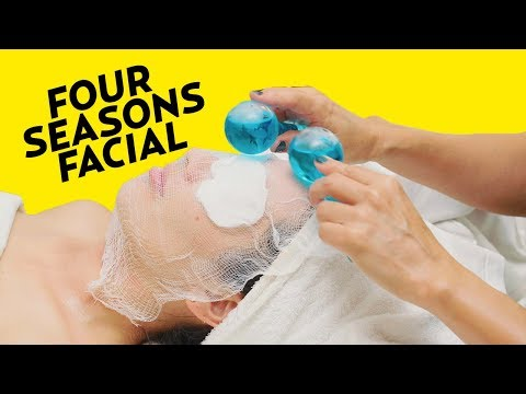 A Fancy Exfoliating Facial Treatment at the Four Seasons | The SASS with Susan and Sharzad