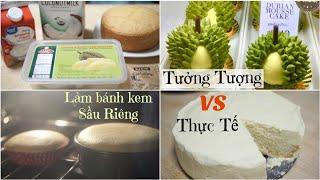 Làm Bánh Mousse Sầu Riêng Ngon Ngon Ăn Là Ghiền ♥ Durian Mousse Cake | mattalehang