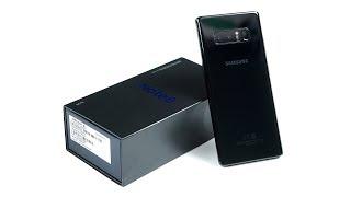 видео Смартфоны Samsung Galaxy Note 8