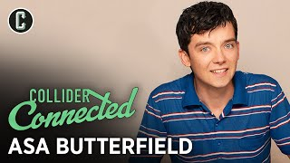 Asa Butterfield on Sex Education and Martin Scorsese's Hugo - Collider Connected