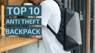 Top 10: Best Anti Theft Backpacks You Can Buy On Amazon 2019 / Travel Backpack / Cheap Backpack