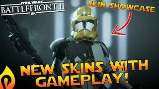 """Star Wars Battlefront 2 - """"New Clone Skins"""" With Gameplay!"""