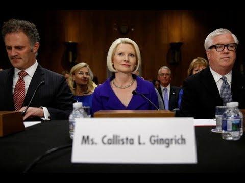 Senate confirms Callista Gingrich as U S  Ambassador to Vatican