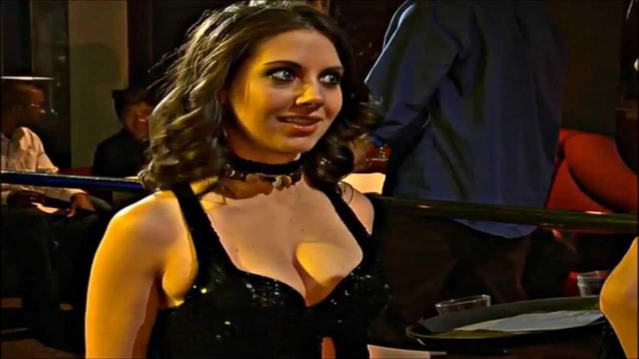 Alison Bie Cleavage - Hot Sluts - YouTube