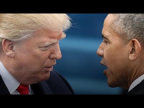 Trump accuses Obama of .wire tapping. in flurry of early morning Tweets In a flurry of early morning T