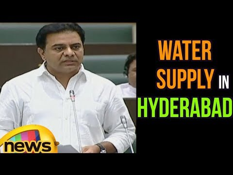 KTR Speech In Assembly 2018 About Water Supply And Other Issues | Mango News
