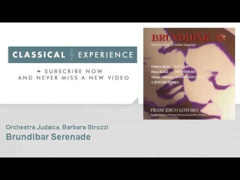 Hans Krasa : Brundibar  Serenade