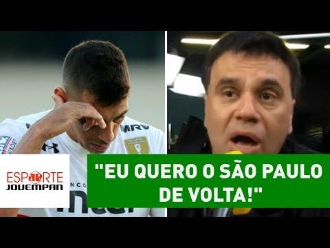 """MAURO BETING desabafa: """"eu quero o SÃO PAULO de volta!"""""""