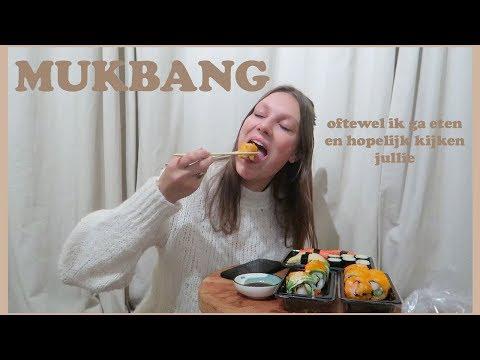 SUHSI MUKBANG! | Aimée van der Pijl