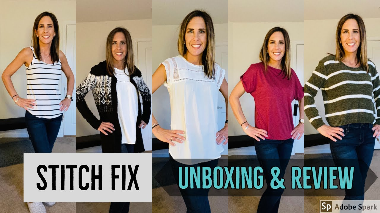 Stitch Fix Unboxing & Try On February 2020 YouTube