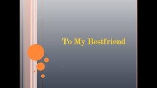 Friendship Day Message To My Best Friend