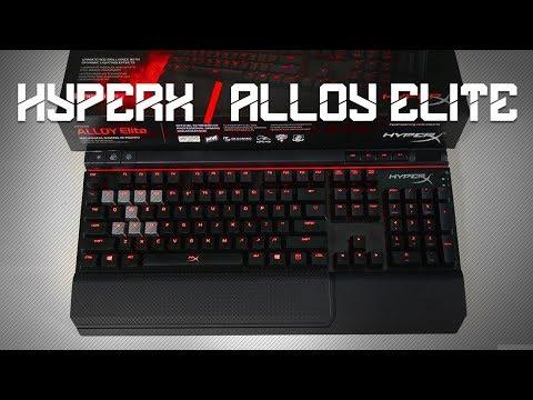 Keyboard Gagah & Tampan : HyperX Alloy Elite