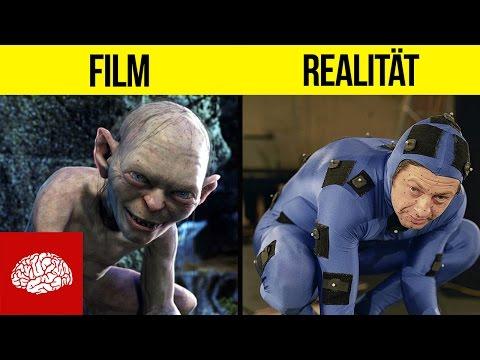 Film vs. Realität - Echte Aufnahmen von Filmsets