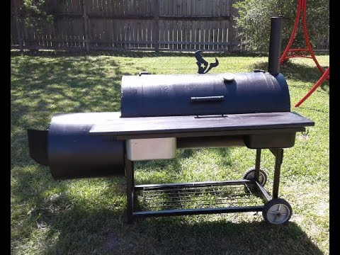 Painting my bbq pit smoker