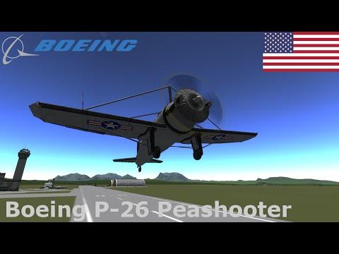 Boeing P-26 Peashooter Speedbuild (KSP 1.04)