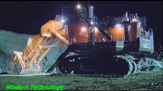 Construction Excavator - Hitachi  EX8000 Excavator biggest in the world - Modern Technology