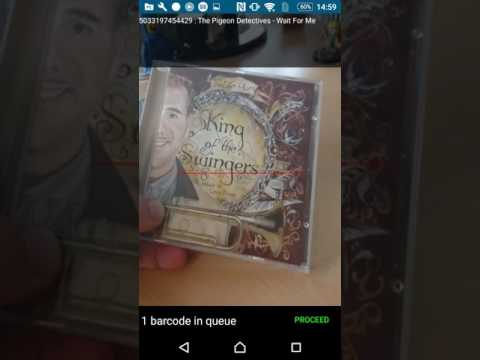 CLZ Music for Android: Adding some CDs by scanning their barcode