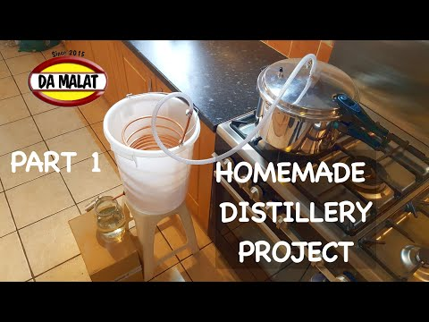 How To Make A Home Made Distillery   Making a simple pressure cooker distillery for essential oils
