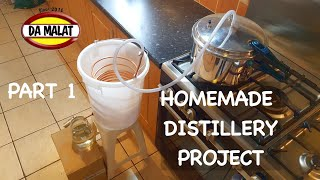 How To Make A H๐me Made Distillery | Making a simple pressure cooker distillery for essential oils
