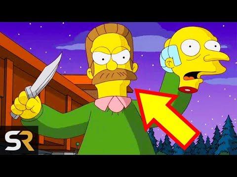 5 Dark Simpsons Secrets That Prove Ned Flanders Is No Saint