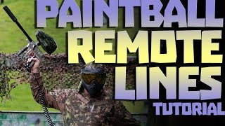 Paintball Remote Lines Tutorial