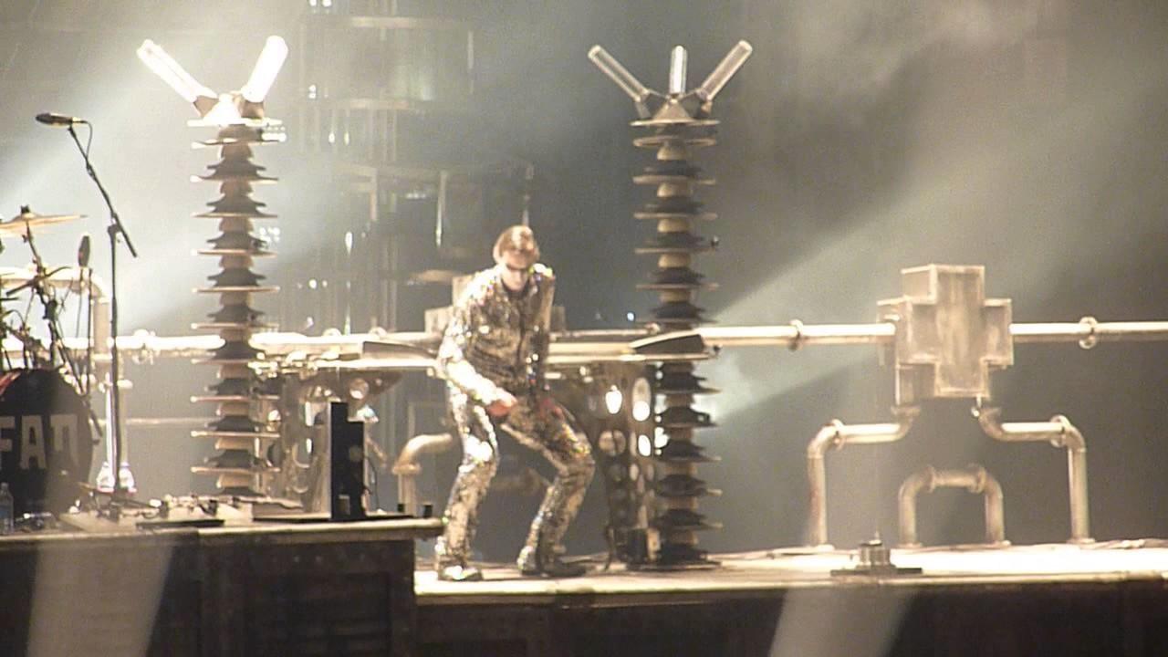 Rammstein Ich Will Madison Square Garden 11 12 2010 Youtube