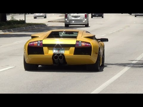 World's best Supercars Taking off LOUD Full Speed Acceleration Revs 2016 Exotic Car Poker Run