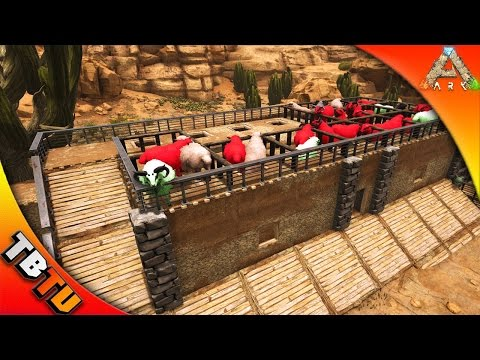 BEST WAY TO BREED OVIS! OVIS MUTATION PEN AND SLAUGHTER HOUSE! ARK SURVIVAL SCORCHED EARTH