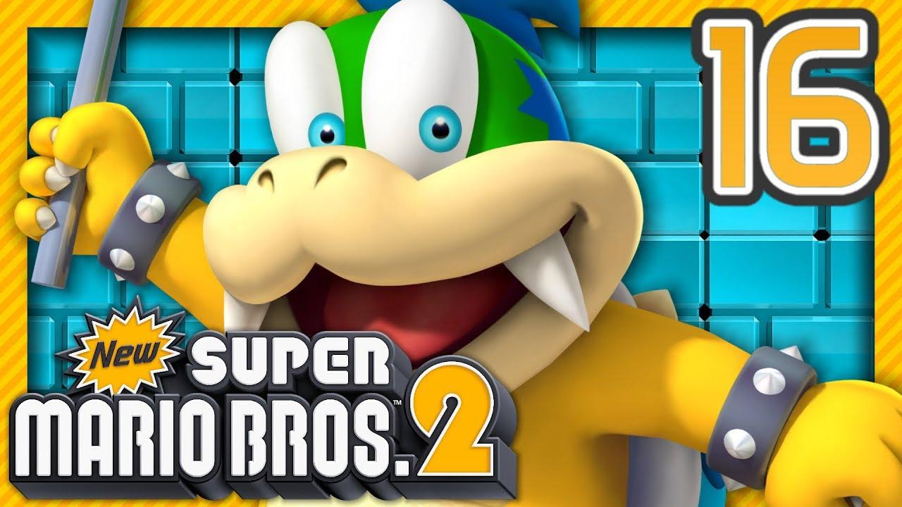 Le Boss Du Monde Champignon New Super Mario Bros 2 Episode 16 Co Op Nintendo 3ds Fr