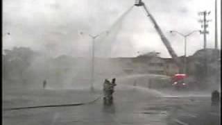Elmont,ny Fire Department Truck 1 *wetdown*