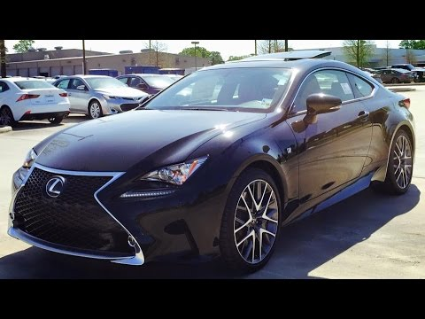 2015 lexus rc 350 f sport ful review start up exhaust youtube. Black Bedroom Furniture Sets. Home Design Ideas