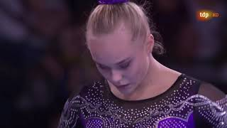 Angelina Melnikova Floor Event Finals 2019 World Championships