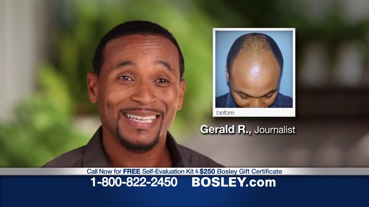 Bosley Commercial Your Hair 2017