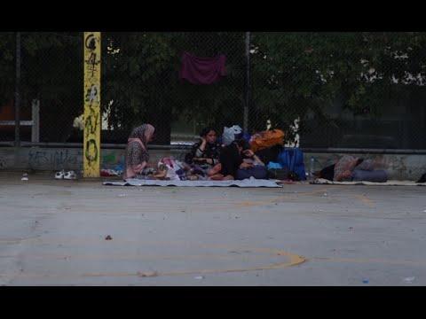 Refugees Disrupt Social Order by Taking Refuge in Greek Public Spaces