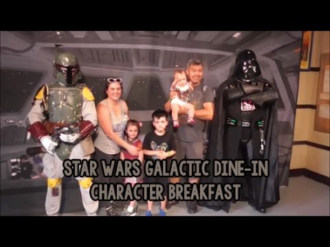 Meeting Characters At Star Wars Dine In Galactic Breakfast