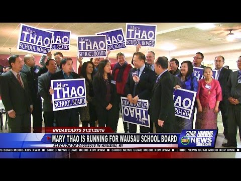 SUAB HMONG NEWS: Mary Thao is running for Wausau (WI) School Board on 04/15/2016