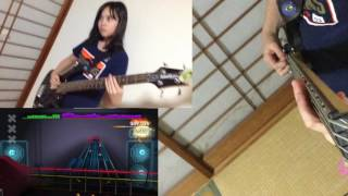 Audrey Plays ROCKSMITH (bass) - Pull Me Under - Dream Theater - 99%