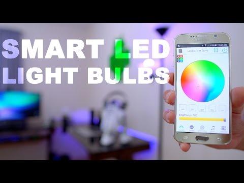 Smart LED Light Bulbs 💡 Bluetooth