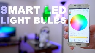 Smart LED Light Bulbs 💡 Bluetooth