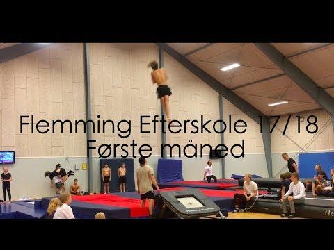 Flemming efterskole 17/18 - første måned