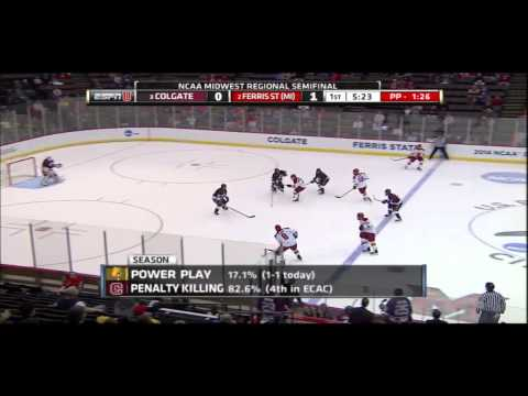 Dominic Hennig Radio Announcer: College Hockey 2014
