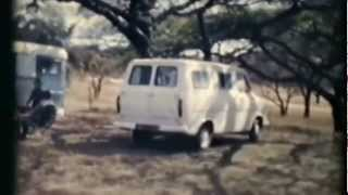 1971 Rhodesia (Zimbabwe) Family Tour - Old 8mm film, no sound